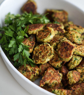 falafel, healthy and vegan