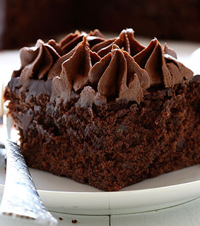 cake, dessert and double chocolate