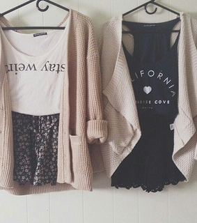 baby pink, black and brandy melville