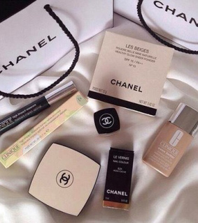 beauty, chanel and clinique