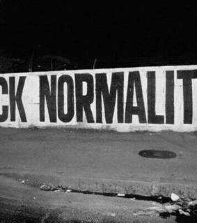black, grunge and normality
