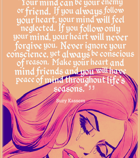 suzy kassem quotes, mind and friend