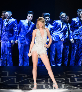 outfit, sparkly dress and world tour
