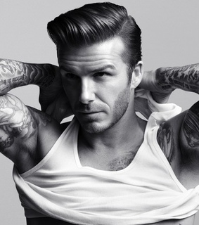 david beckham and hairstyles