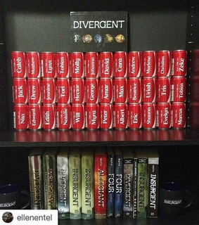 divergent, four and instagood