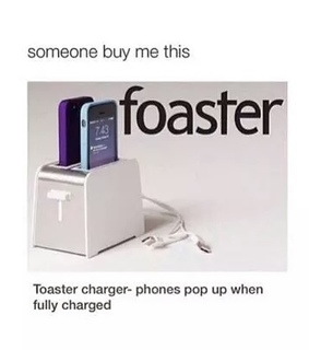 charger, funny and i need one