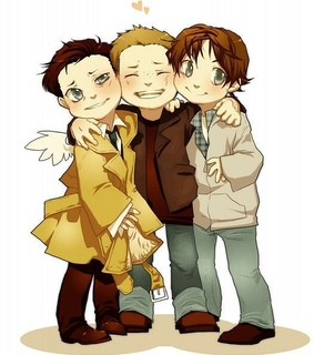 angel, anime boy and castiel