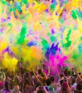 color, crazy and fest