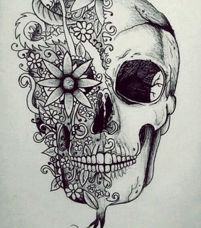 art, black and white and draw