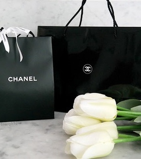black box, chanel and luxury