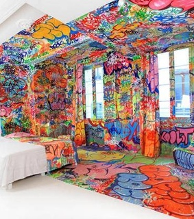 architecture, bedroom and colour
