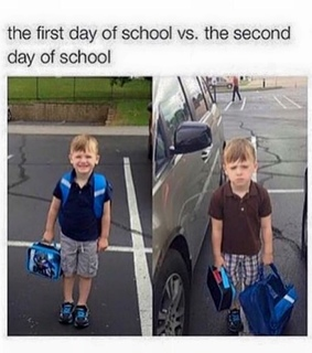 first day, funny and pics