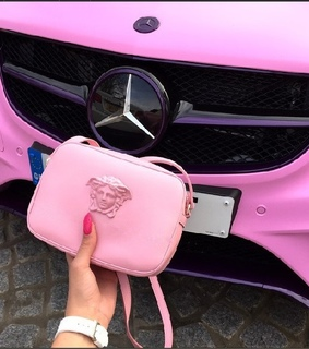 mercedez, pink cars and sports cars