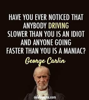 comedian, driving and faster