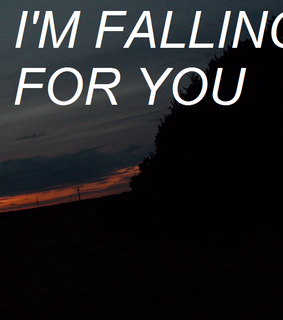 falling for you, grunge and sad