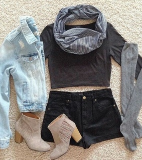 black, cool and jean