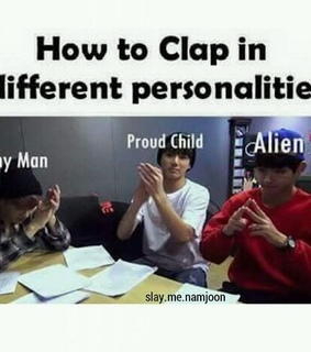 alien, bts and clap