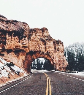 mountains, road and road trips