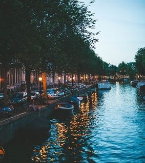amsterdam, boats and netherlands