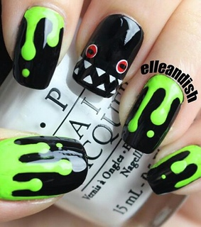 dripping, halloween and monster