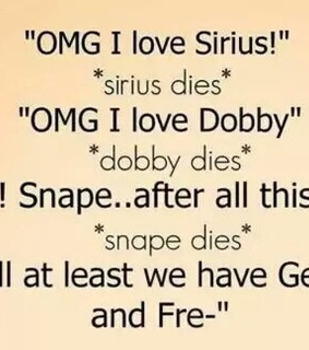 dies, dobby and harry potter