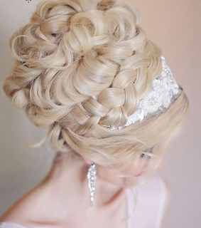 beauty, blonde and bridal