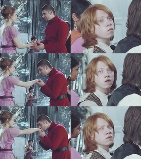 dance, harry and hermione