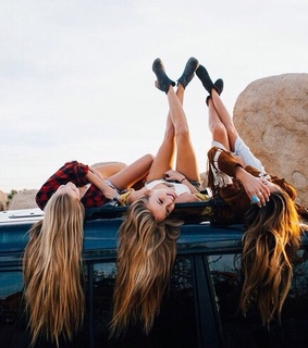 best friends, bff and cars