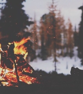 camp fire, camping and fire