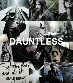 black, dauntless and divergent