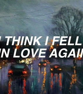 aesthetic, falling for you and love