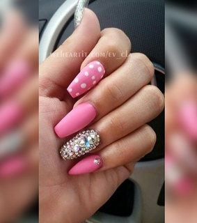 beauty, cute nails and fancy