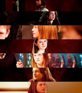 bonnie wright, harry potter and ginevra molly weasley