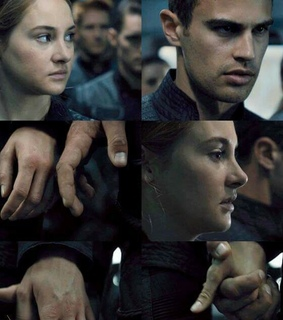 dauntless, divergent and four