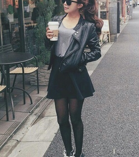 black, clothes and fashion
