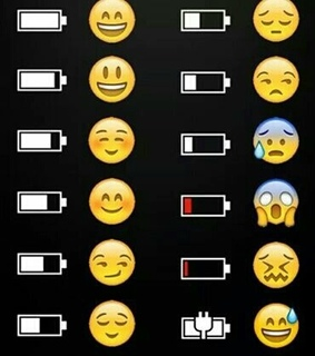 charge, emoji and funny