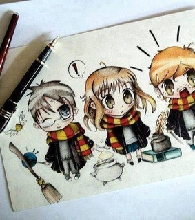 cute, drawing and harry