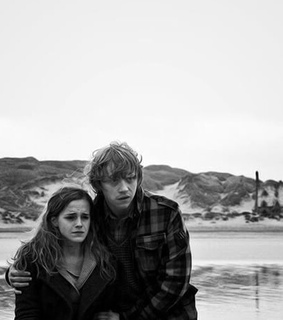 couple, deathly hallows and harry potter