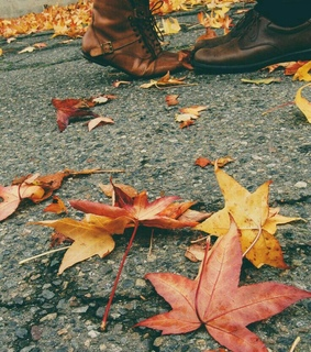 autumn, boots and couple photography