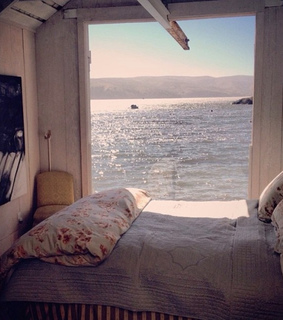 beach, bed and bedroom
