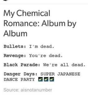 bullets, danger days and frank iero