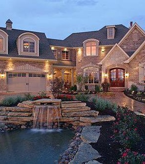 dream house, family and home
