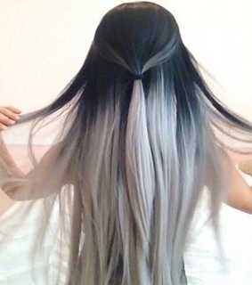 Black And Silver Hair Images On Favim
