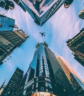 airplane, houses and inspiration
