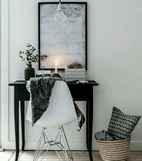 appartement, black and decor