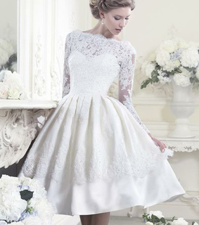 a-line wedding dress, fashion wedding dress and cute wedding dress