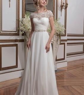 a-line wedding dress, elegant wedding dress and fashion wedding dress