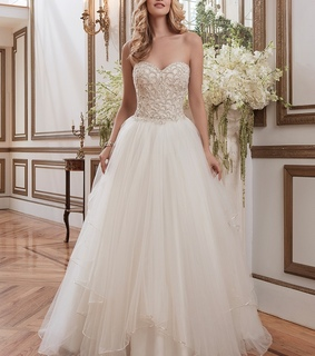 a-line wedding dress, fashion wedding dress and Charming Wedding dress