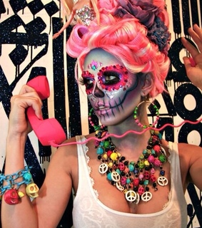art, colorful and halloween