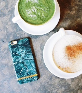 case, coffee and iphone
